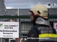 Transportul gazelor prin hub-ul care a explodat, marți, în Austria, a fost reluat. Toate conductele funcționează la capacitate maximă