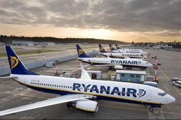 Ryanair, în picaj. Închide două baze și reduce drastic capacitatea de transport, din cauza problemelor cu aeronavele Boeing 737 MAX