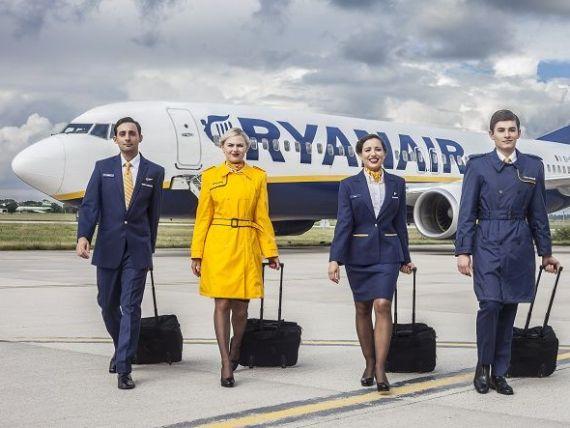 Ryanair face recrutări în mai multe orașe din România. Ce salarii și bonusuri oferă