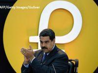 Nicolas Maduro anunță că investitorii sunt interesați să plaseze 1 mld. dolari în achiziția de Petro, moneda virtuală lansată de Venezuela
