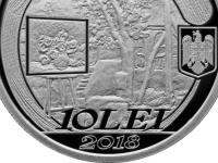 BNR a lansat în circuitul numismatic o monedă de argint de 10 lei