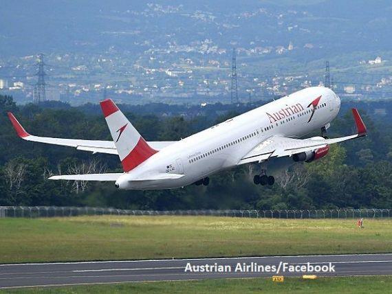 Austrian Airlines, subsidiară a Lufthansa, salvată cu 600 mil. euro, după ce compania mamă a primit un ajutor de 9 mld. euro de la Guvernul german