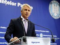"""Teodorovici îi răspunde președintelui: """"Sunt bani pentru pensii şi salarii şi vor fi până la finalul anului. Pensiile se majorează cu 10%, din iulie"""""""