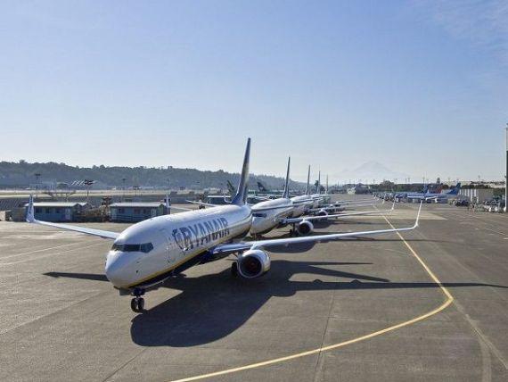 Piloții Ryanair din Gemania se alătură, vineri, grevei din Irlanda, Suedia şi Belgia. 400 de zboruri, anulate