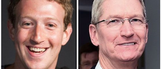 Dispută între Mark Zuckerberg și șeful Apple. Ce-i reproșează fondatorul Facebook lui Tim Cook