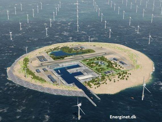 Olandezii vor să construiască o  baterie  gigant în Marea Nordului. Proiectul SF care va face energia mai ieftină