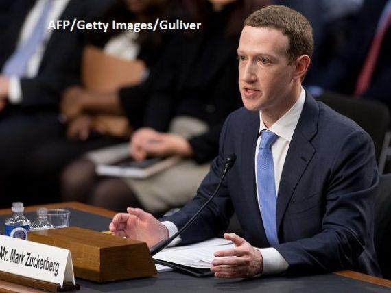 Zuckerberg, audiat 5 ore în Senatul SUA. Fondatorul Facebook recunoaște că nu a luat măsuri suficiente pentru a împiedica folosirea rețelei în scopuri dăunătoare. Acțiunile companiei cresc cu 4,5%