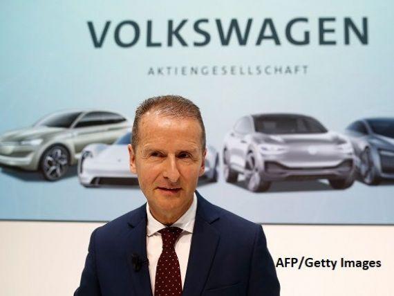 Volkswagen l-a înlocuit pe Herbert Diess de la conducerea brandului VW. Acesta rămâne CEO al grupului Volkswagen