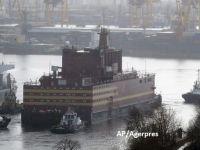 """Rusia a lansat o centrală nucleară plutitoare, considerată un """"Cernobîl pe gheață"""" de către organizațiile de mediu"""