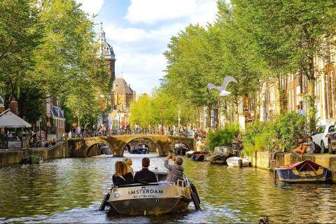 Europenii încep să se întoarcă în Amsterdam, dar autoritățile au un avertisment dur pentru ei:  Corona şi turismul nu merg bine împreună