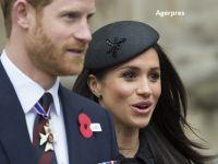 Meghan Markle, soția Prințului Harry, a născut un băieţel