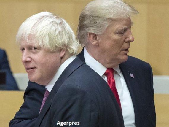Trump promite Marii Britanii un acord de liber-schimb convenabil după Brexit. Regatul, tot mai dependent de SUA