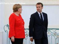Merkel și Macron vor ca zona euro să aibă un buget comun, până în 2021