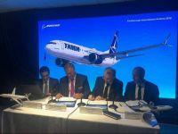 Tarom semnează, la cel mai mare salon aeronautic din lume, un contract pentru achiziționarea a cinci aeronave de la Boeing