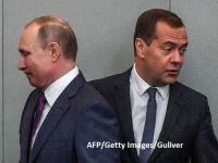 """Rusia vede noile sancțiuni americane ca pe o """"declarație de război economic"""". Medvedev: """"Vom reacționa la acest război"""""""