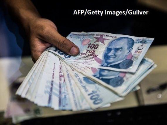 Turcia renunță la intenția de a transfera bani din rezerva băncii centrale pentru reducerea deficitului bugetar, care s-a majorat cu 225%