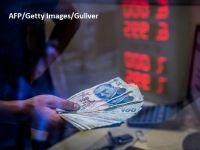 Economia Turciei resimte din plin prăbușirea lirei. Creșterea a încetinit la 5,2% în trimestrul doi
