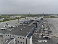 Transportul aerian de pasageri a scăzut cu peste 17% în primul trimestru, după ce cursele au fost suspendate în timpul stării e urgență