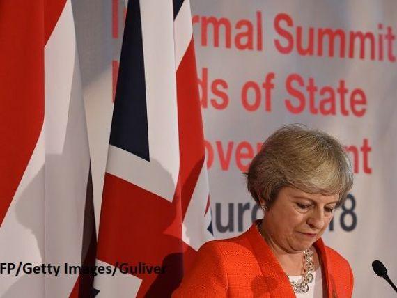 Dezastrul de la Salzburg : Amenințări reciproce și niciun rezultat pe tema Brexitului. Mărul discordiei: granița irlandeză. Presa britanică: Theresa May a fost umilită de liderii europeni