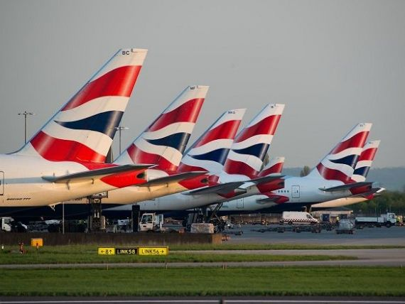 Piloţii British Airways au intrat, la miezul nopţii, într-o grevă de două zile. Ce se întâmplă cu pasagerii curselor anulate