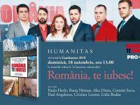"""Paula Herlo, Alex Dima, Cosmin Savu, Paul Angelescu și Rareș Năstase lansează cartea """"România, te iubesc!"""""""