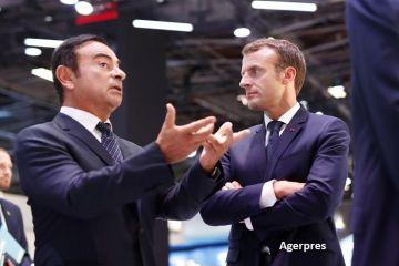 Șeful Renault, arestat la Tokyo. Ce se întâmplă cu proprietarul Dacia. Reacția președintelui Franței