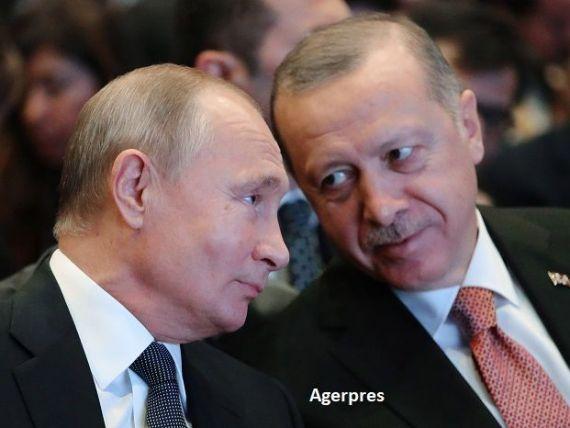 O nouă conductă prin care Putin își aduce gazul în Europa. Proiect gigant Rusia-Turcia de 7 mld. dolari, pe sub Marea Neagră