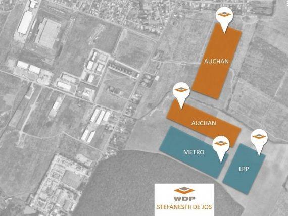 Belgienii de la WDP au semnat un acord cu Auchan pentru un spaţiu logistic de 77.000 mp, lângă Bucureşti. Investiţie de 45 mil. euro