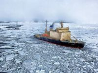 """Laborator gigant de cercetare oceanografică, construit la Tulcea cu tablă de la Sidex Galați. Nava """"Le Comandant Charcot"""" va explora mările de la Polul Nord"""