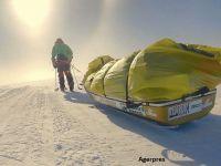 A traversat singur Antarctica pe jos. Toţi cei care au încercat până acum au murit
