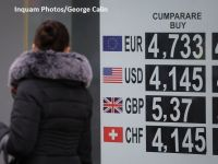 Euro a explodat miercuri. BNR a anunțat un curs de 4,7569 lei/euro. Moneda națională s-a depreciat cu 2,5% în ultima lună