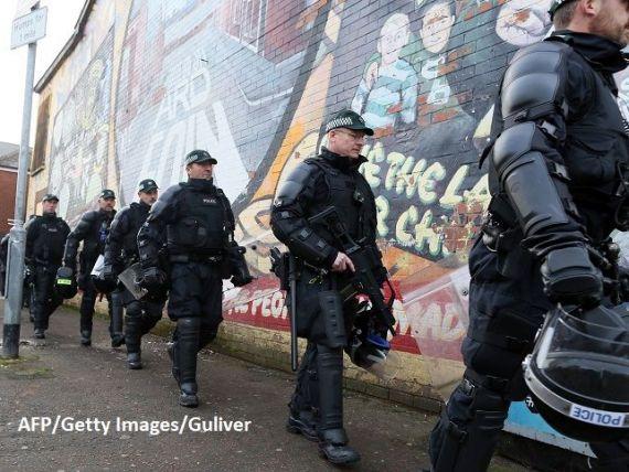 Polițiști mobilizați la frontiera irlandeză. Autoritățile se așteaptă la ce este mai rău în cazul unui Brexit fără acord