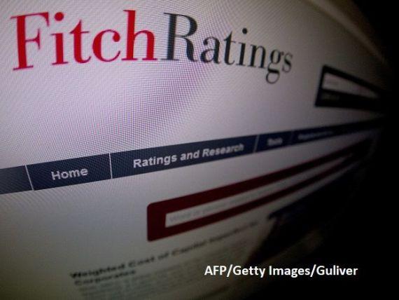 Fitch revizuiește ratingurile băncilor din România, din cauza  riscului mare al unei intervenţii guvernamentale în sectorul bancar