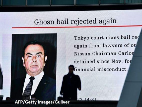 În primul interviu dat din închisoare, Carlos Ghosn îi acuză pe șefii Nissan de  complot , pentru înlăturarea sa
