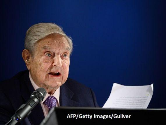George Soros pune la bătaie 1 mld. dolari pentru lupta împotriva împotriva încălzirii globale și a  dictatorilor  ca Donald Trump și Xi Jinping