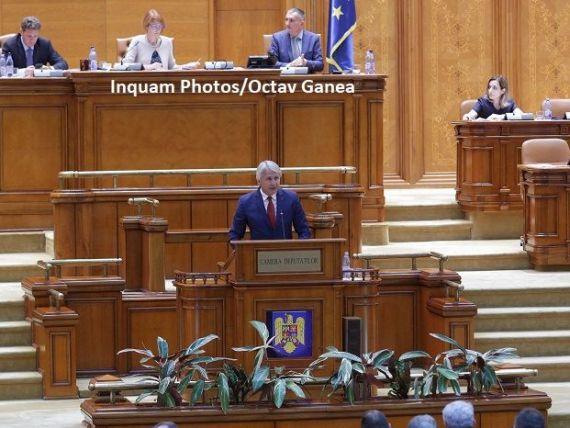 Parlamentarii au început dezbaterile în plen pe buget. Teodorovici:  Creşterea economică a României nu este o simplă declaraţie politică, ci este validată de CE