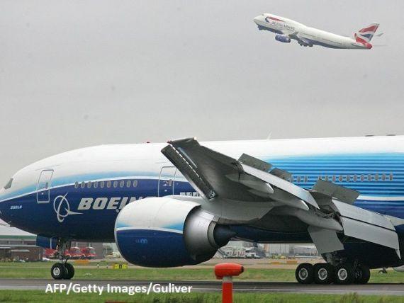 Mai mulți giganți Boeing 777, nevoiți să aterizeze pe Otopeni din cauza reactivării unui conflict armat. Două avioane au fost doborâte
