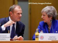 Theresa May cere de la UE o nouă amânare a Brexitului. Donald Tusk a făcut o ofertă ''flexibilă'' de 12 luni