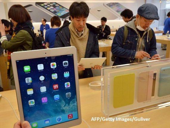 Apple a prezentat un nou model de tabletă iPad Air și un nou iPad mini. La ce prețuri se vând