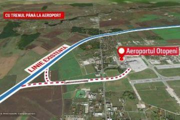 CFR promite că linia de la Gara de Nord la Otopeni va fi gata până anul viitor, printr-o minune:  Să construiască într-o noapte cât alții în șapte