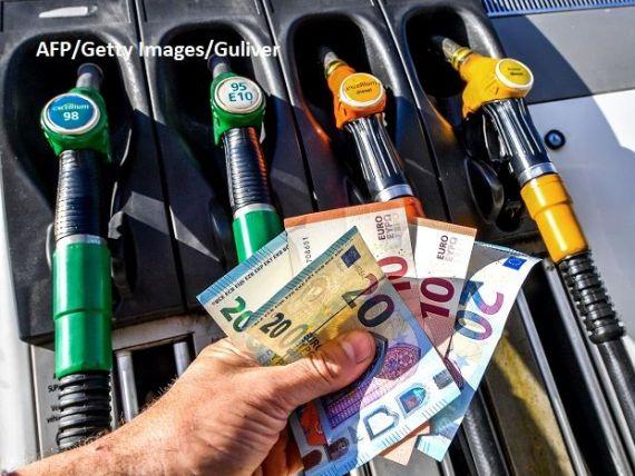 Carburanții din România s-au scumpit mai mult decât media UE, în ultima lună. Cotațiile țițeiului, în creștere