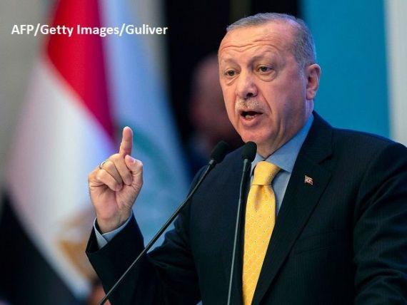 Erdogan spune că Turcia va lua ceea ce îi revine din Marea Neagră, Marea Egee şi Marea Mediterană:  Cei care vor să ni se opună să fie pregătiţi să plătească preţul
