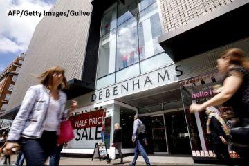 Sfârșit de drum pentru Debenhams. Magazinele vor fi închise în urma eşuării eforturilor de salvare. Guvernul de la Londra, pregătit să-i ajute pe cei 12.000 de angajaţi care îşi pierd locurile de muncă