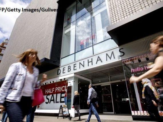 Retailerul online Boohoo a achiziţionat brandul şi site-ul Debenhams cu 55 mil. lire sterline. Cele 118 magazine vor fi închise şi angajații, concediați