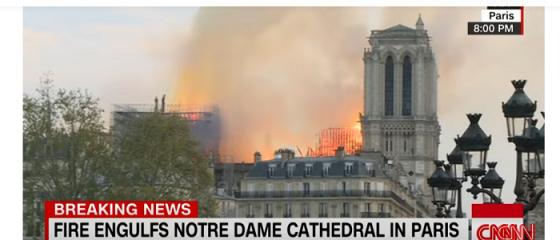 Ziua în care Inteligența Artificială și-a arătat limitele. YouTube a sugerat că incendiul de la Catedrala Notre Dame este fake news