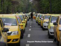 Taximetriștii protestează din nou față de platformele de car sharing și restricționează circulația în București. Reacția Uber