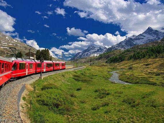 Țara cu cel mai bun sistem feroviar din Europa cheltuie 80 mld. euro anual cu reţeaua de transport