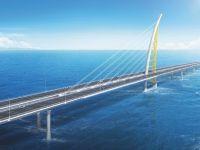 Unul dintre cele mai lungi poduri maritime din lume, construit în deșert. Va favoriza dezvoltarea Silk City, un spaţiu de liber schimb între Asia şi Europa