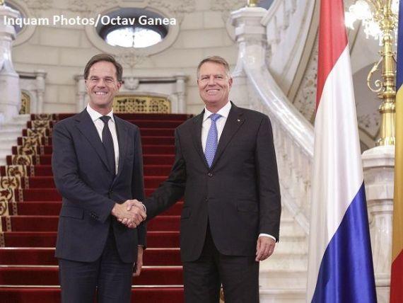 Premierul olandez Mark Rutte, la summitul UE de la Sibiu: România va intra în spaţiul Schengen când se va conforma regulilor statului de drept