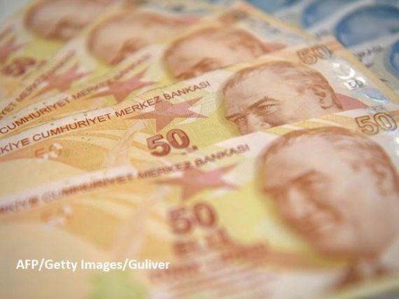 Turcia rămâne fără bani. Banca centrală a atras 4,2 mld. dolari din piață, pentru a-și consolida rezervele